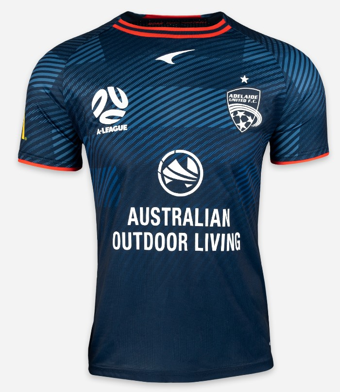 Adelaide United Blue Away Jersey 2021 2022
