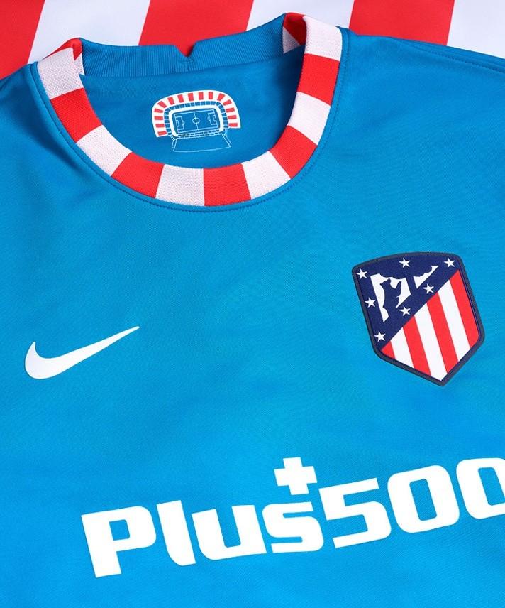 Atletico Third Shirt 2021 2022 Vicente Calderon Inspired