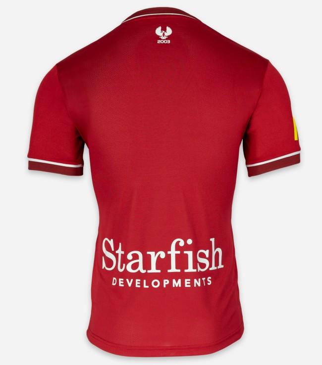 Back of Adelaide United Shirt 2021 22