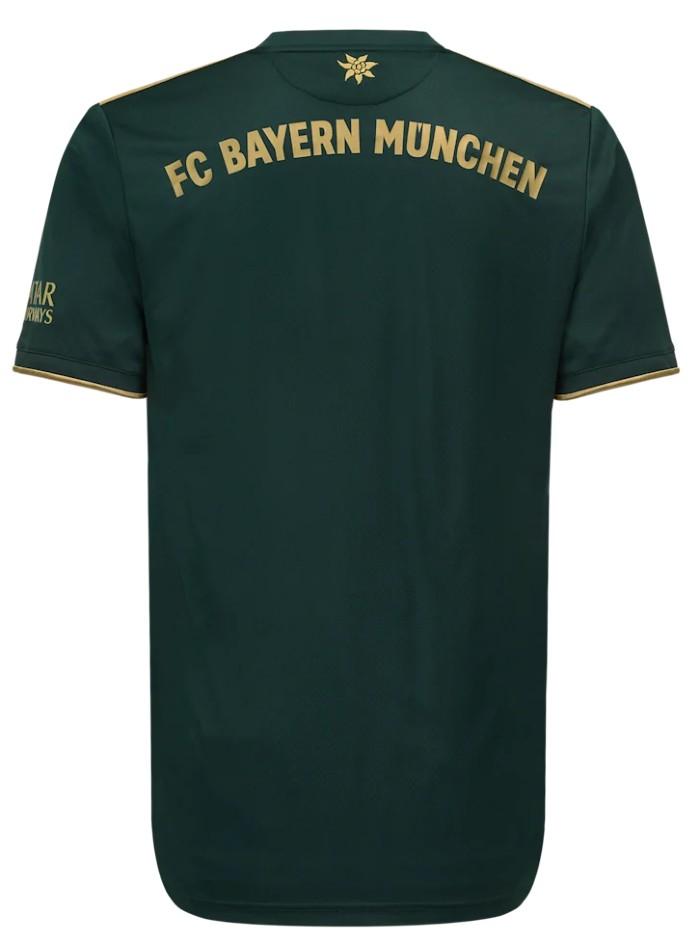 Back of Bayern Oktoberfest Shirt 21 22