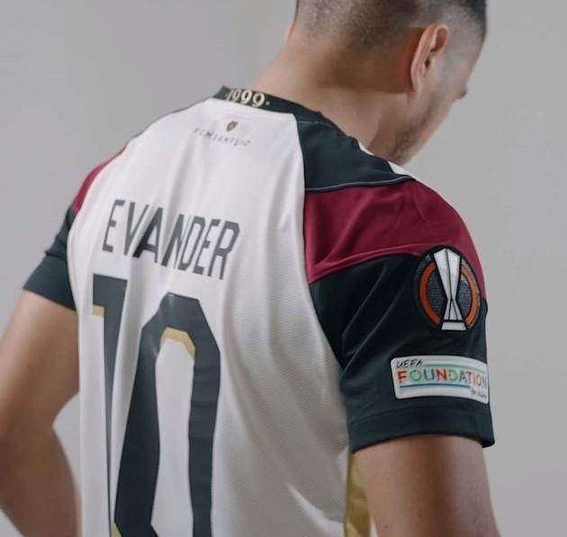 Back of FCM Europa Kit 2021-22