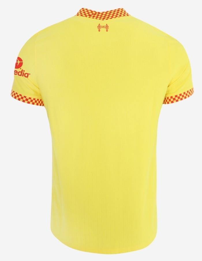 Back of Liverpool Third Shirt 21-22