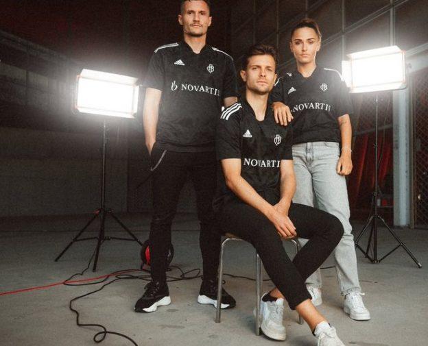 Black FC Basel Special Shirt 2021-2022 vs Zurich