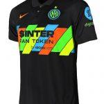 New Inter Milan Third Shirt 2021-2022 | Black Inter 3rd Kit 21-22 Nike