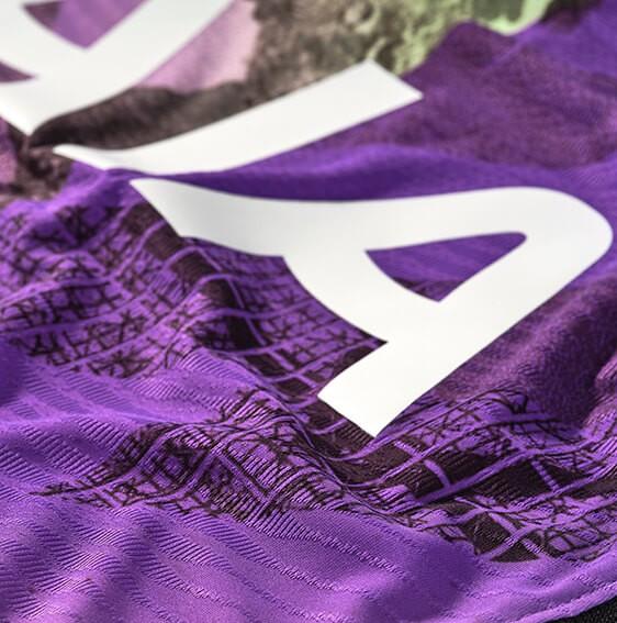 Closeup of Tottenham Third Shirt 2021-22