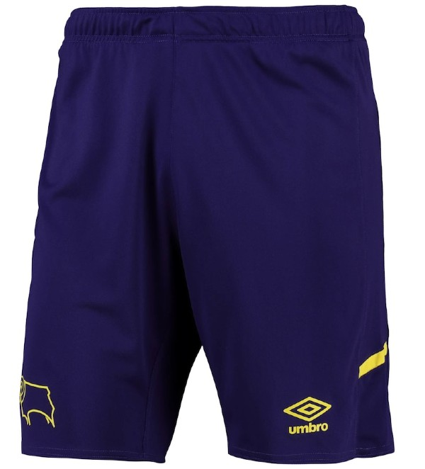 Derby County Third Kit Shorts 2021 22