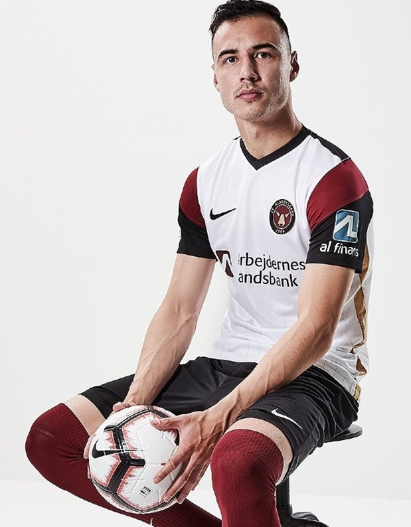 Dion Cools Midtjylland Jersey 2021 2022 UEL