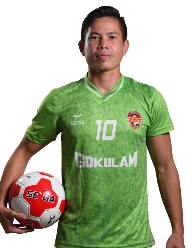 Green Gokulam Kerala Away Shirt 2021 22
