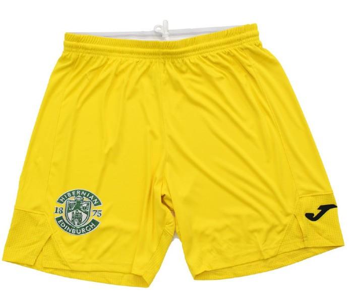 Hibernian Third Kit Shorts 2021-2022