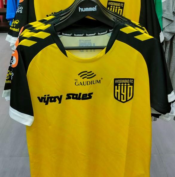 Hyderabad FC New Shirt 21-22