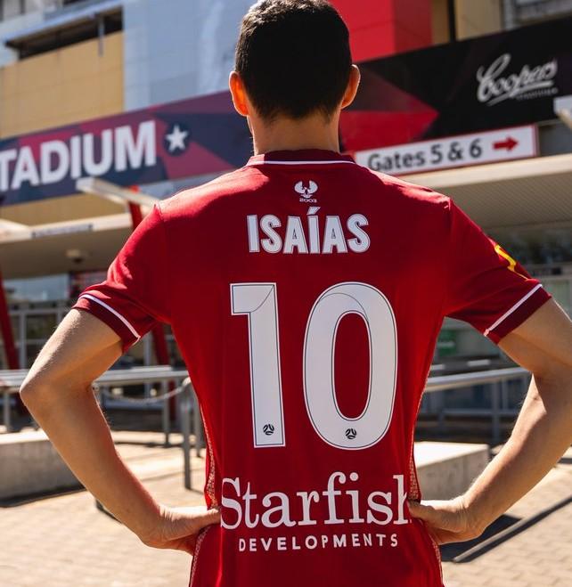 Isaias 10 Adelaide United