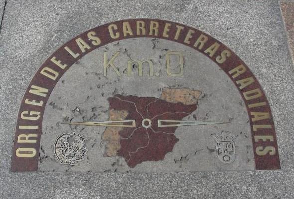Kilometre Zero Puerta del Sol Madrid