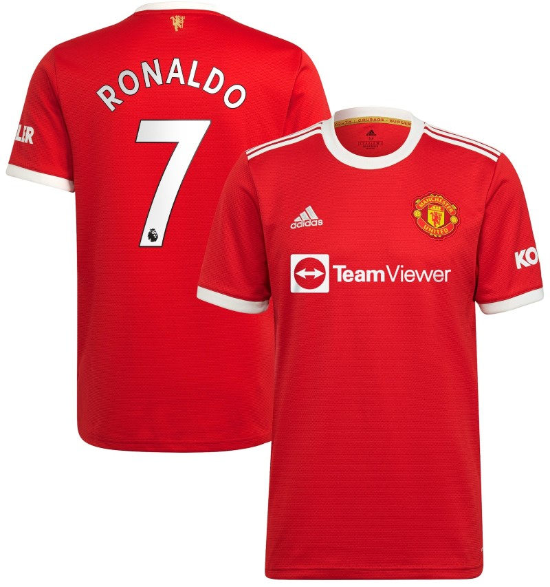 Man Utd Home Shirt 2021 22 with Ronaldo 7