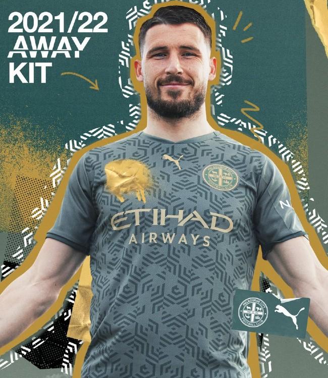 Melbourne City Away Kit 21-22