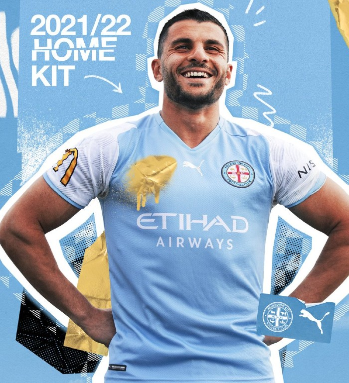 Melbourne City Home Jersey 2021 2022