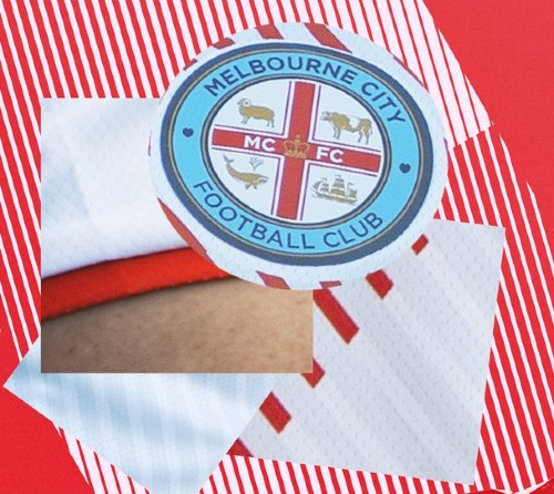Melbourne City Red and White