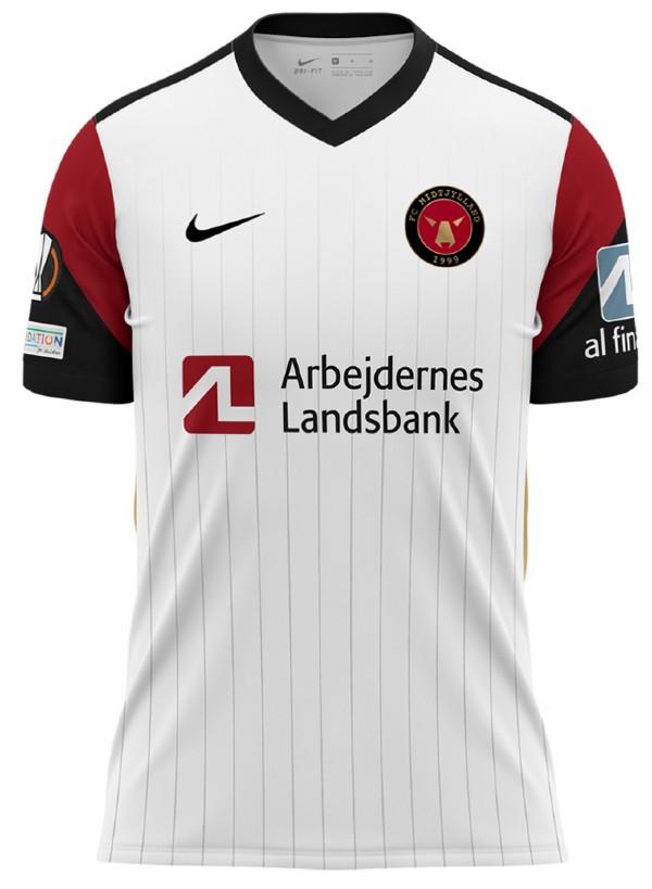 Midtjylland Europa League Jersey 2021 2022