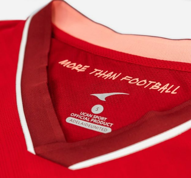 More than Football Adelaide United Top 2021 22