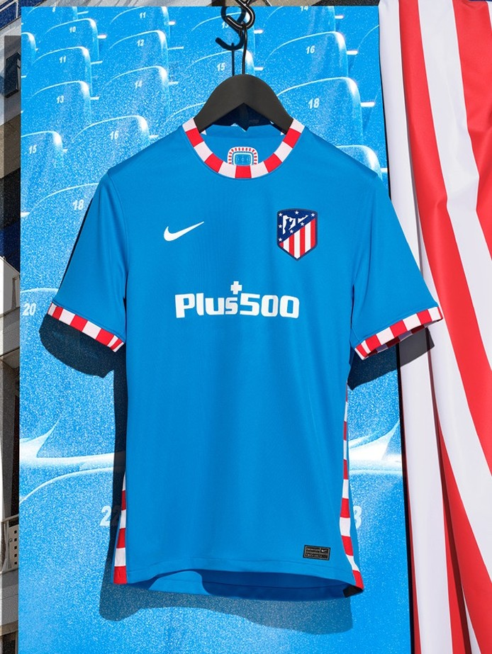 New Atletico Madrid Blue Third Jersey 2021 2022