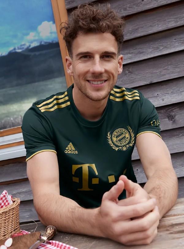 New Bayern 2021 2022 Oktoberfest Green Shirt