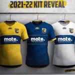 New Central Coast Mariners Jersey 2021-22 Paladin Sports | Mate CC Mariners Shirt Sponsor Home Away Third