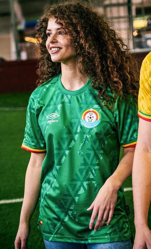New Ethiopia Home Shirt 2021-22 AFCON