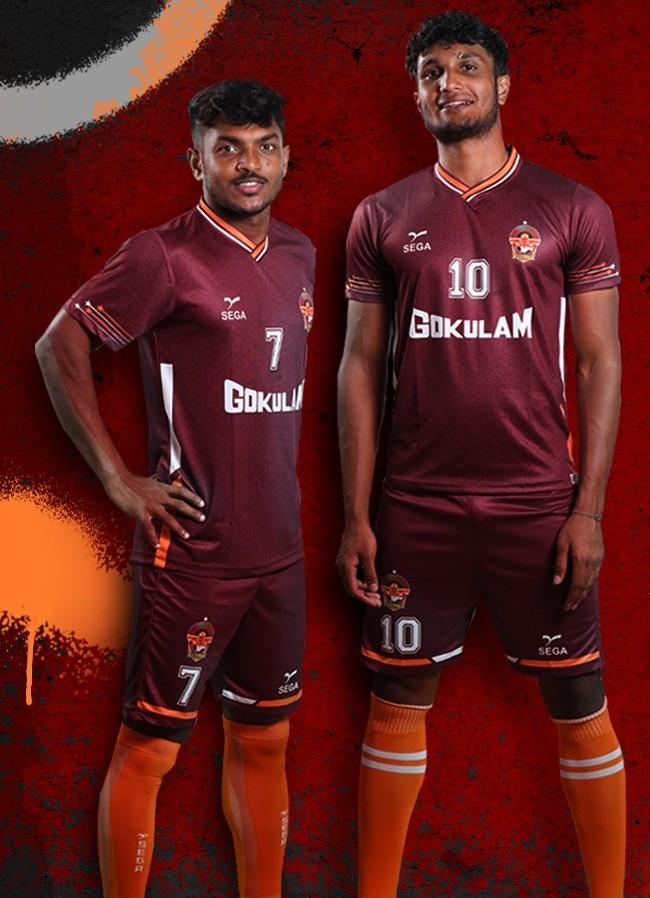 New Gokulam Kerala Kit 21 22