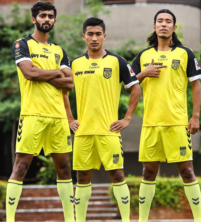 New Hyderabad FC Jersey 2021 2022 Hummel
