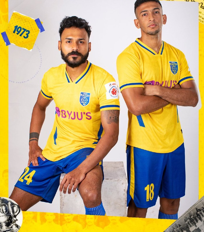 New Kerala Blasters Jersey 2021 2022