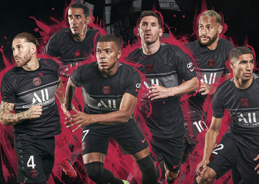New PSG Third Jersey 2021 2022 Champions League