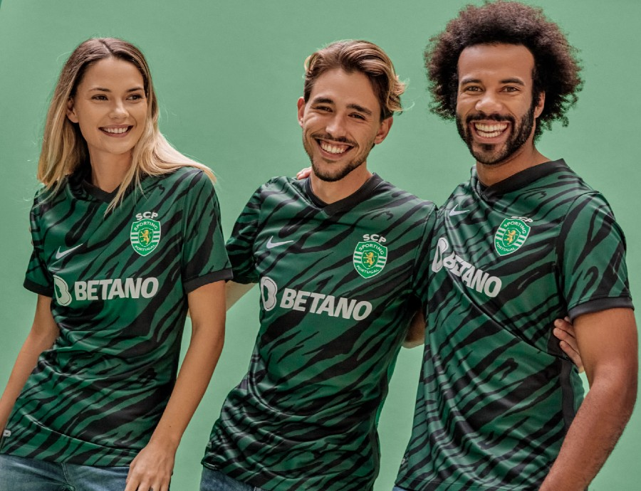 New Sporting Lisbon Champions League Shirt 2021 2022