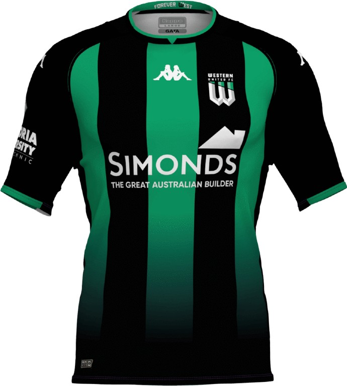 New Western United Jersey 2021 2022