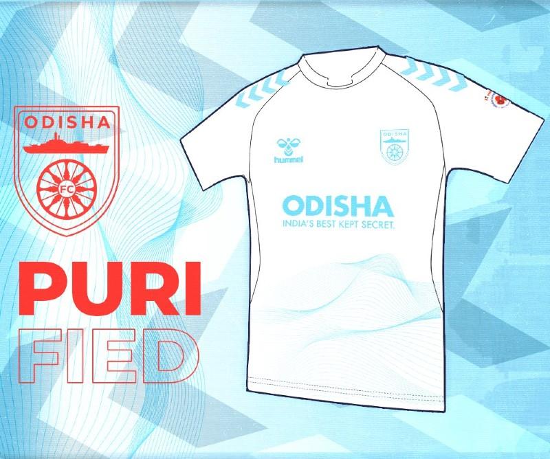 Odisha FC White Third Kit 2021 2022