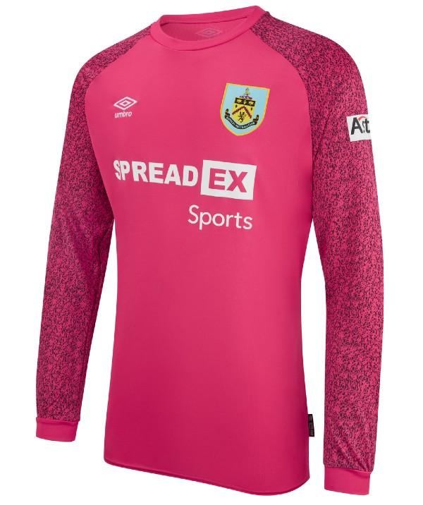 Pink Burnley Goalkeeper Shirt 2021 22