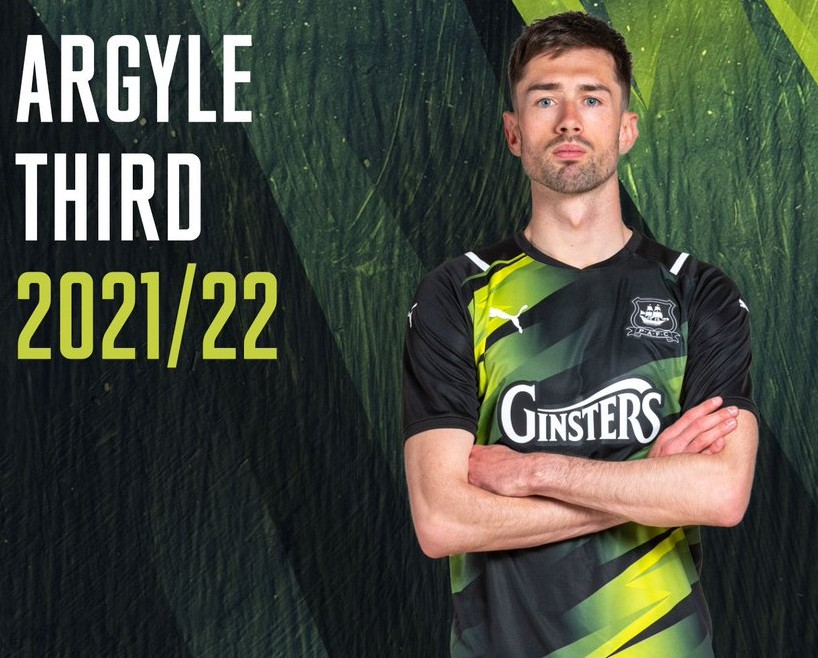 Plymouth Argyle Third Kit 2021-22