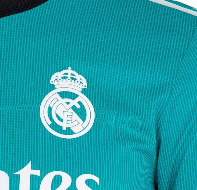 Real Madrid Third Kit 2021-22 Closeup