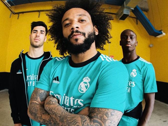 Real Madrid Third Shirt 2021 22 Adidas