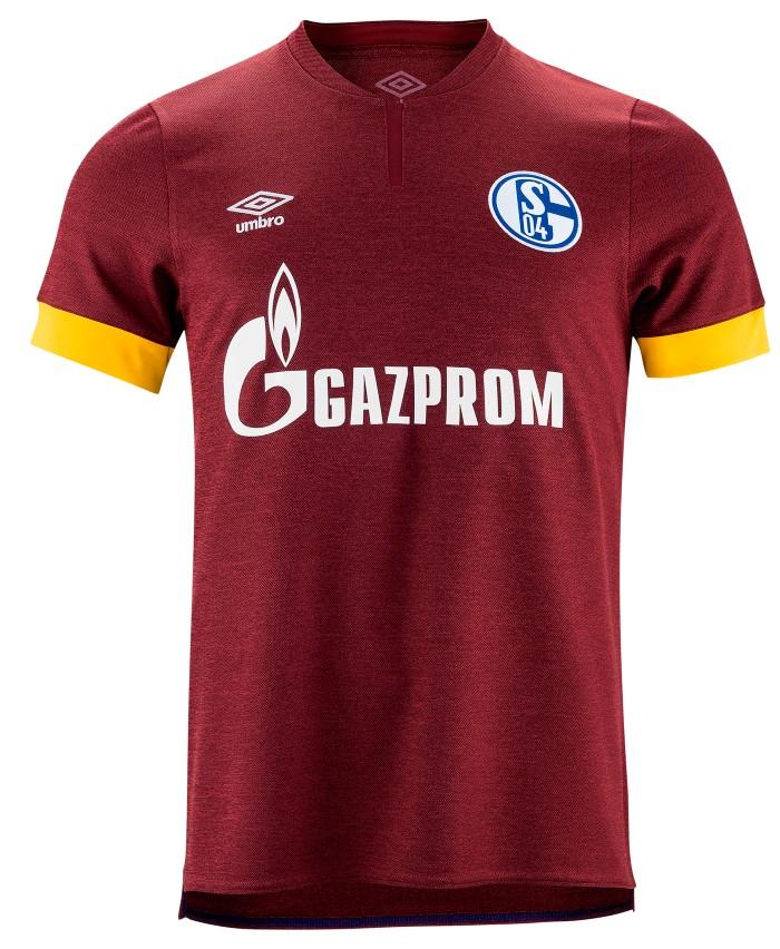 Red Schalke Shirt 2021-22 Umbro