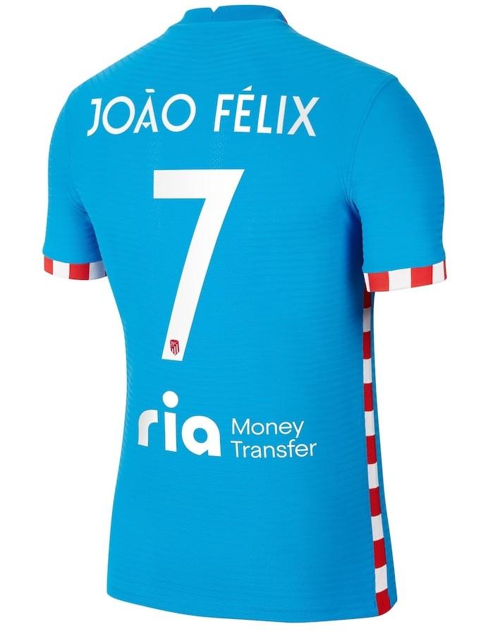 Ria Money Transfer Atletico Madrid Back of the Shirt