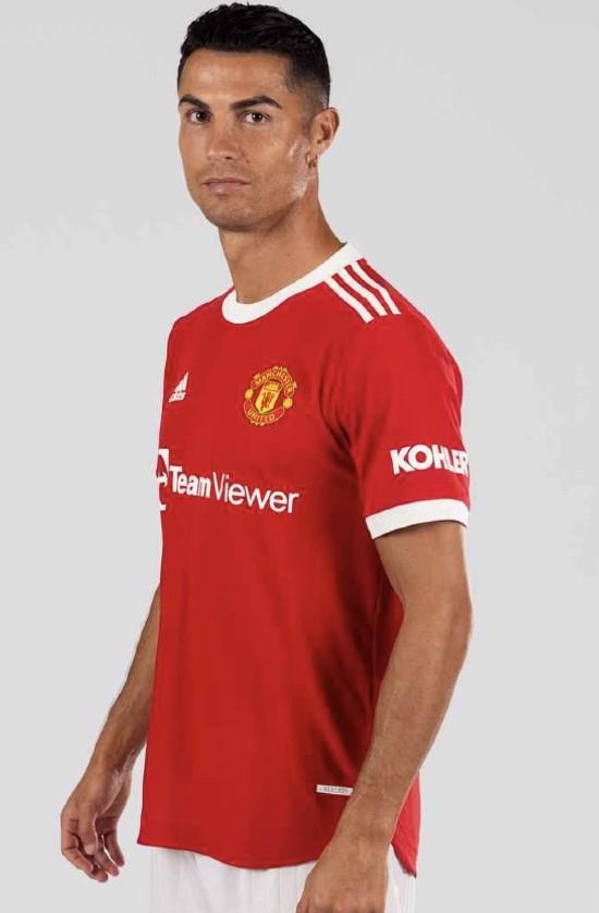Ronaldo in United Home Top 21-22