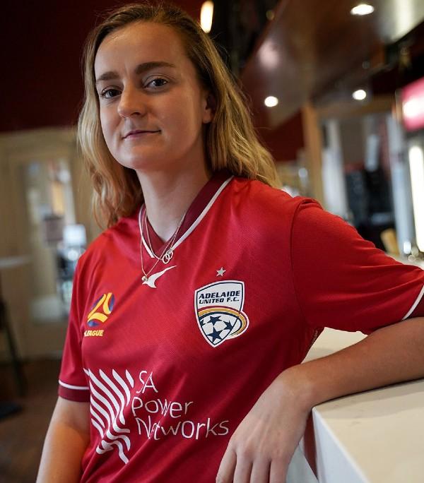 SA Power Networks Adelaide United Womens Jersey Sponsor