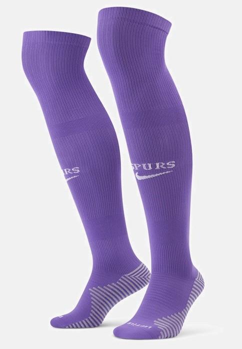 Spurs Third Kit Socks Purple 2021 22