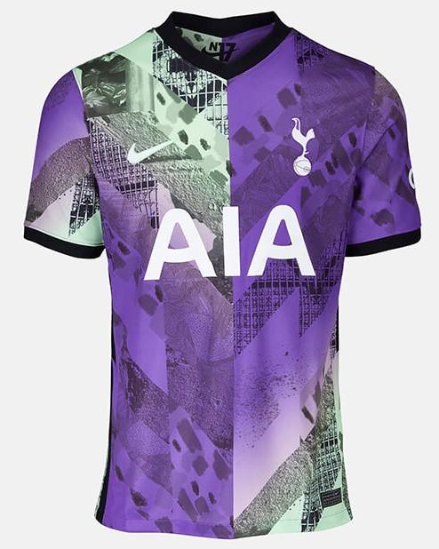 Spurs Third Shirt 2021-22 Replica Version Stadium