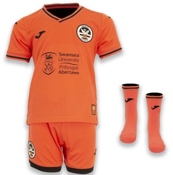 Swansea Third Shirt 2021-2022 Orange