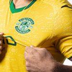 Yellow Hibs Strip 2021-22 | Sunshine on Leith The Proclaimers Hibernian Third Top 21-22