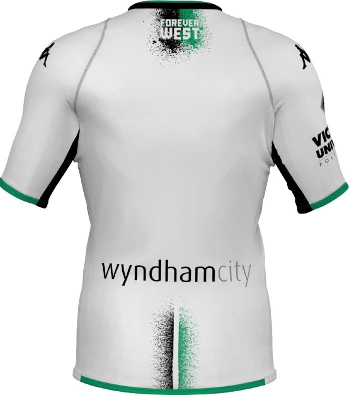 Wyndham City Western United Back of Shirt Sponsor 2021 22