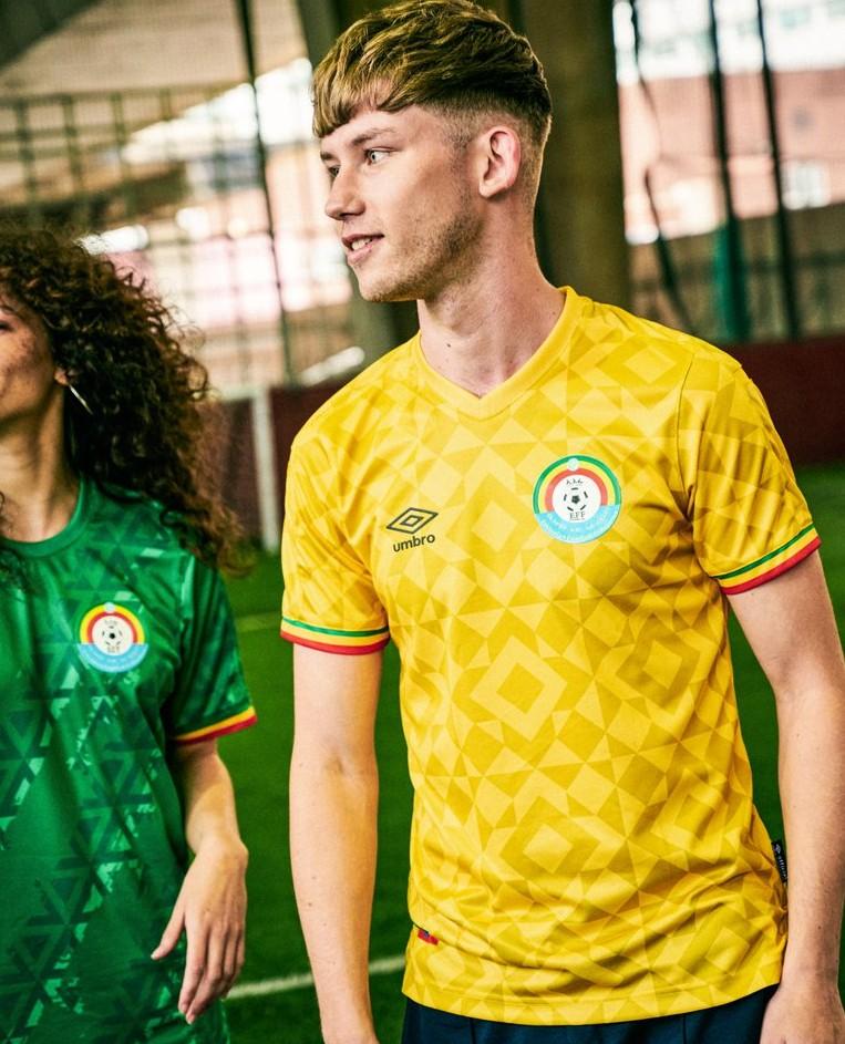 Yellow Ethiopia Away Shirt 21-22