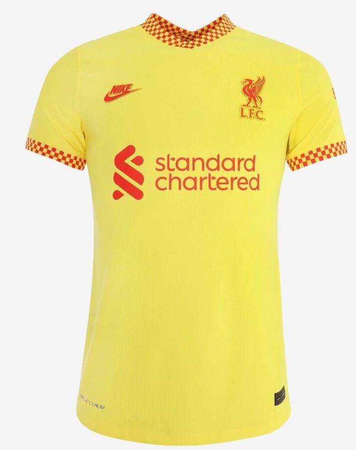 Yellow LFC Top 2021 2022 New