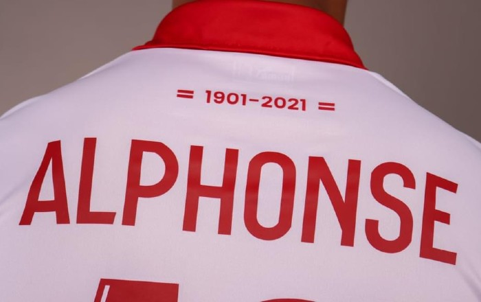 Amiens Third Kit 21-22 Back