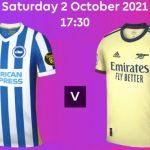GW7 shirt watch- Arsenal to wear away kit vs Brighton